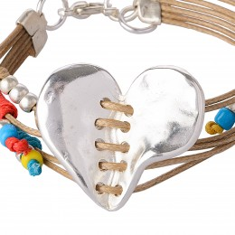 PULSERA CORAZON POP